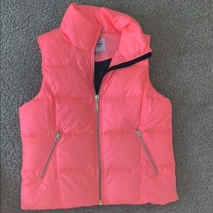 Pink Juicy Couture Puffer Vest